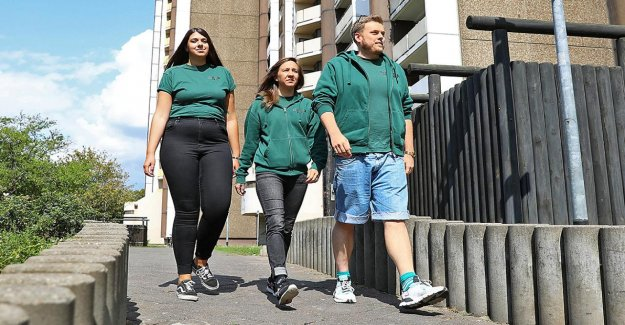 Le travail social à Cologne: les éducateurs de rue d'aider d'autres Jeunes à des Défavorisés