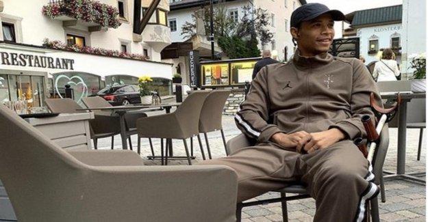Leroy Sané: ManCity-Star envoie Béquilles Image de l'Autriche