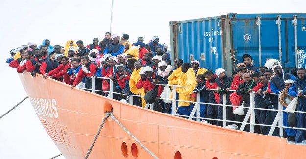 Les nigérians veulent par l'Allemagne en Vue