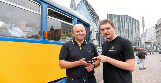 Made in Leipzig la Première Navigation de la FOAP-Contrôleurs