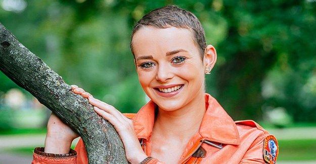 POUR le Candidat: Laura Marié (20) se bat contre le Cancer