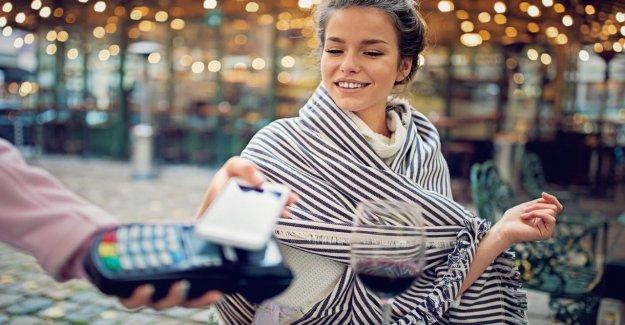Paiement mobile: Allemand payer de plus en plus rares avec de l'Argent