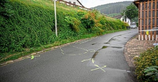 Plettenberg (Sauerland): Chute de Coffre – Conducteur déterminé