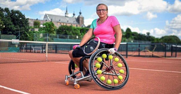 Rollstuhltennis Champion: Bianca Osterers des jeux Paralympiques de Rêve éclaté
