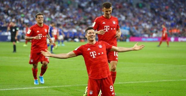Schalke 04 – Bayern Munich: La Lewandowski, membre de la Semaine
