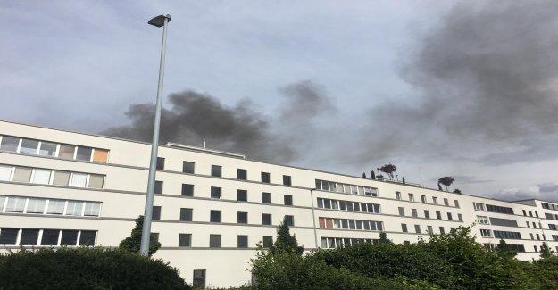 Spreitenbach: sapeurs-Pompiers doit être en raison de Balcon-Incendie dégager de Vue