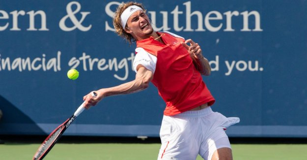 Tennis: Alexander Zverev sert à 20 Double dans un Match
