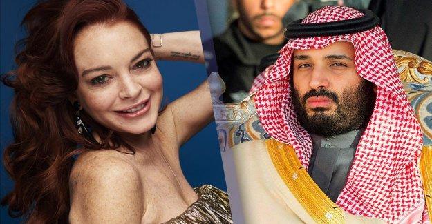 Trompe les Rumeurs autour de Lindsay Lohan et de l'Arabie saoudite d'Horreur Cheikh
