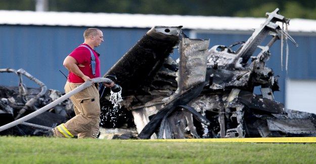 US Coureur de Earnhardt survécu Jetabsturz - Vue