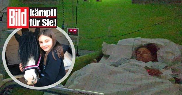 Un Sabot se Produit aurait Vanessa presque tué: le Cauchemar du Poney-Cour