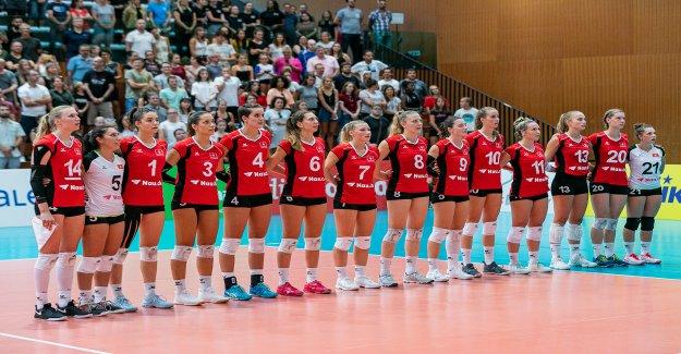 Volley-ball: L'équipe nationale Suisse aux championnats d'europe en Slovaquie - Vue