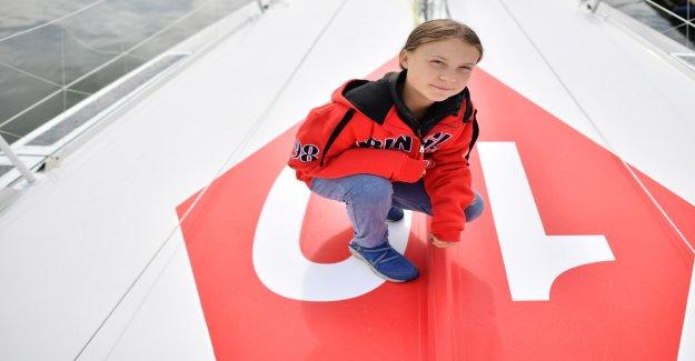 Voyage à New York: aujourd'Hui, pique Greta Thunberg en Vue sur le Lac