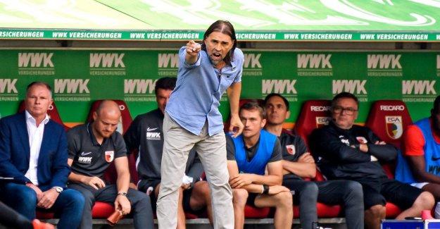 2:1 contre l'Eintracht Francfort, Augsbourg gagne avec une Chemise Truc de Martin Schmidt