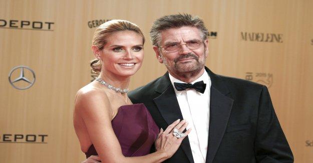 Après le Mariage de Zoff: Heidi Klum avec Papa, Günther le «FALAR»-Set