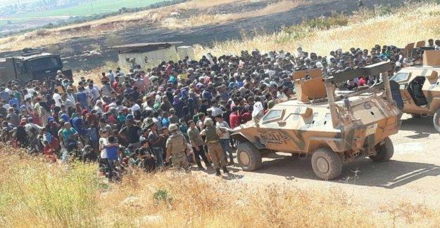Augmentation du nombre de réfugiés, Périphérique d'une Situation Erdogan Limites hors de Contrôle?
