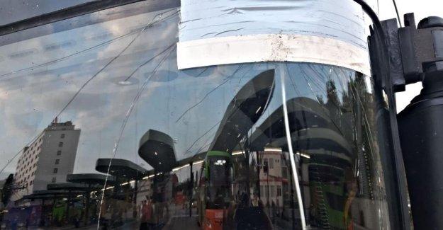 Autocar de Berlin à Riga avec Riesenloch arrêté