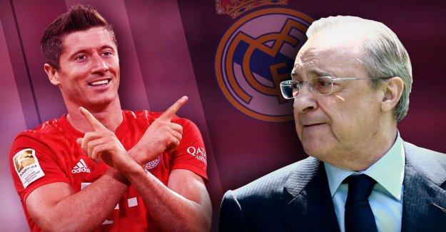 Bayern: le Real Madrid, il a, pendant de nombreuses années, Robert Lewandowski, membre de la tente