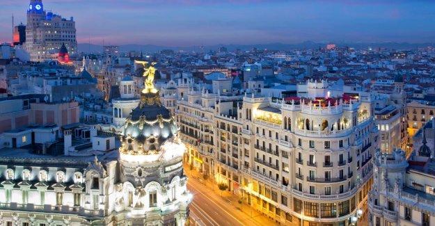 Bonne Vacances Conseil(h): Le Ciel près de l'Hôtel Principal à Madrid