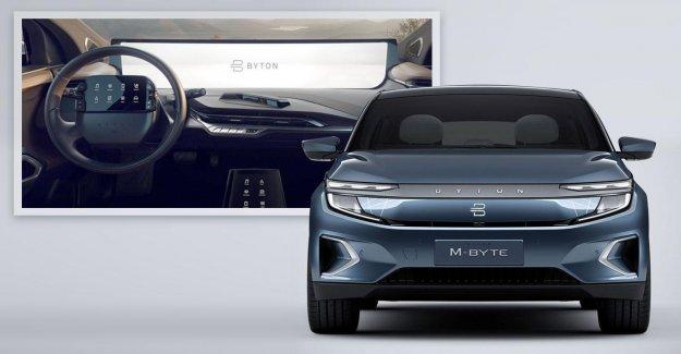 Byton M Octets: SUV Électrique en provenance de Chine, en première Mondiale à l'IAA