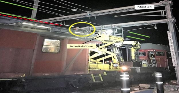 Courant fort-Accident à Viège: sécurité lors de la CFF - Vue