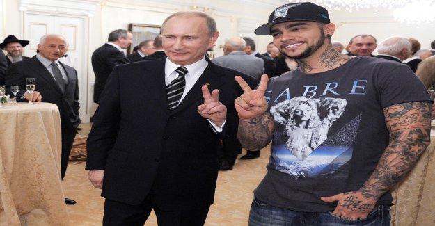 DJ-Antoine-Collègue, Timati, rapper Eloge de Poutine à la Vue