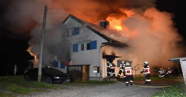 Dans Lütisburg Station: les détecteurs d'Incendie sauve des Familles de la Vie - la Vue
