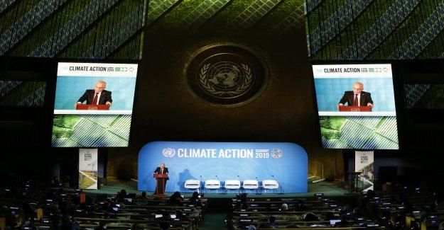 De l'onu sur le Climat à New York: Le Discours d'Ueli Maurer - Vue