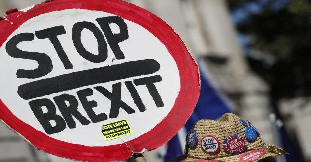 Des documents montrent: les Britanniques à peine Brexit-Suivre préparé avec une Vue
