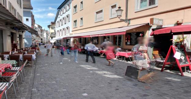D'extrême gauche de l'extrême-droite battre à Zurich, à la Veille