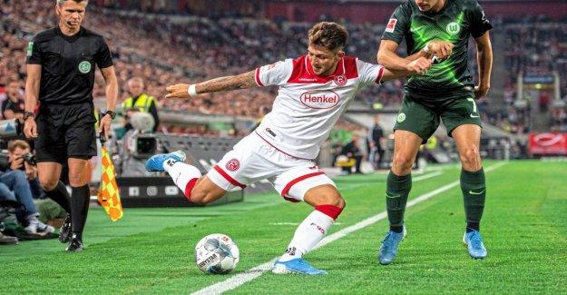 Düsseldorf – Wolfsburg 1:1: Ce qui a puisque, la Vidéo Raté vu?
