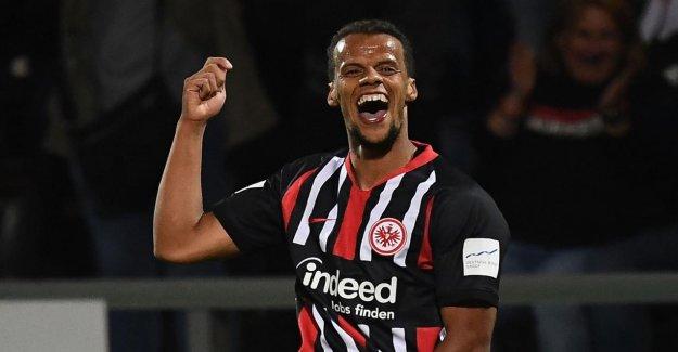 Eintracht Francfort: CHANDLER c'est Pourquoi, a prolongé il si vite