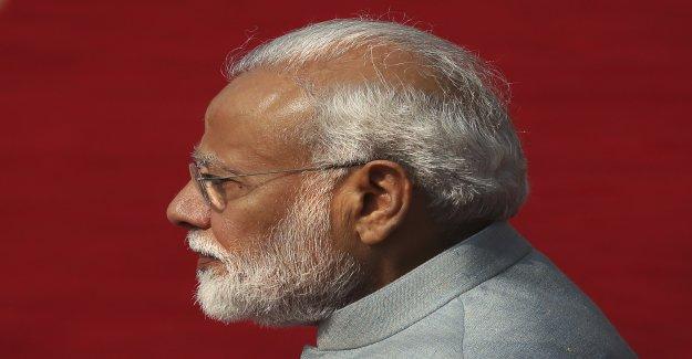 En inde, le Président de Berne: Discussions sur les accords Commerciaux - Vue