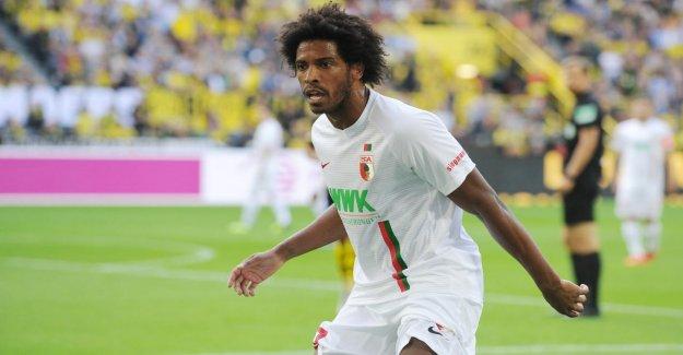 FC Augsburg: Caiuby buissonnière Audience après coup de tête-Accusation