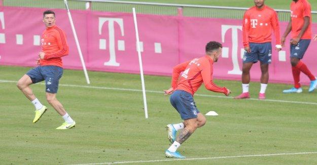 FC Bayern avant de Paderborn-Jeu: Lewandowski se moque de Perisic à l'Entraînement!