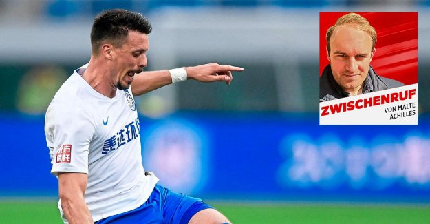 Football: Sandro Wagner est l'Anti-Phrasendrescher