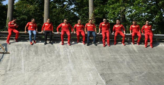 GP Belgique: Leclerc et Ferrari, en pole, affichent leur ambition