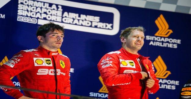 Formule 1: Leclerc déplore le GP de Singapour sur Vettel - Vue