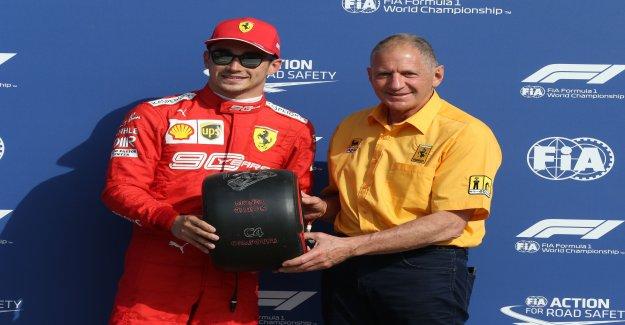 Formule 1: Scheckter fait l'éloge de Leclerc en tant que «Federer de la Formule 1 est une Vue