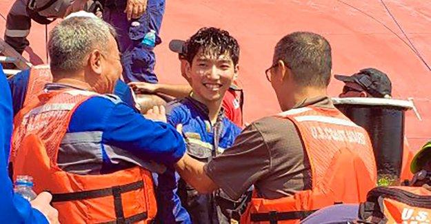 Golden Ray, la Dernière des quatre Membres de l'Équipage de Malheur Cargo sauvé