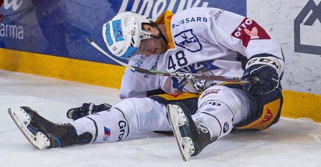 Hockey sur glace: Flottement chez le favori pour le Titre de l'EV Zoug en Vue
