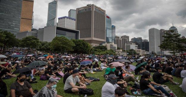 Joshua Wong, l'un des leaders du