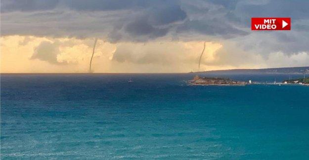 Hystérique Nature-Spectacle - Deux Tornades avant de Majorque repéré