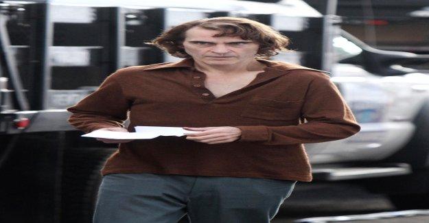 Joaquin Phoenix a pris pour «Joker» 23 kg (à partir de - Vue