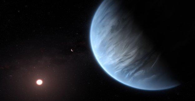 K2-18b: les Chercheurs à trouver, pour la première fois de l'Eau sur d'autres Planètes - Vue