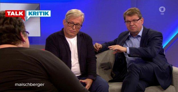 La pauvreté du Talc dans Maischberger - SPD-Pleurnichard Stegner ravi de avec la CDU-Homme