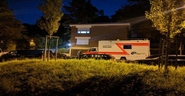 La police Engagement dans le Unterstrass-Quartier - Vue
