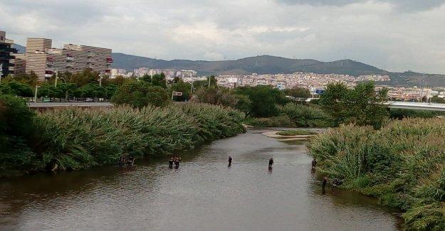 La police cherche à Barcelone: le Père (16) jette le Bébé dans l'eau de Rivière Vue