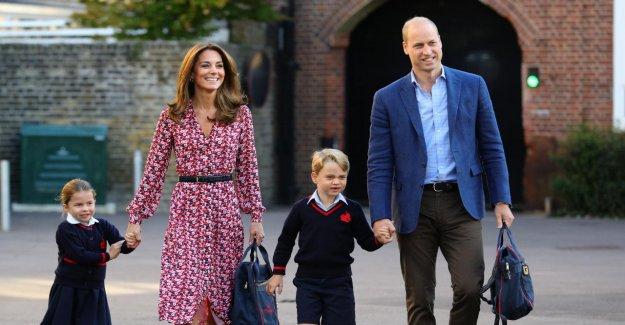Le prince George et la princesse Charlotte font leur rentrée