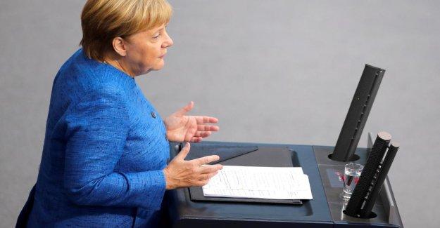 Le Bundestag live! Règlement de comptes avec la Chancelière, en General Débat