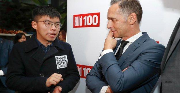 Le ministre des affaires étrangères de la Meuse sais, la Critique de la Chine en raison de Hong kong de retour